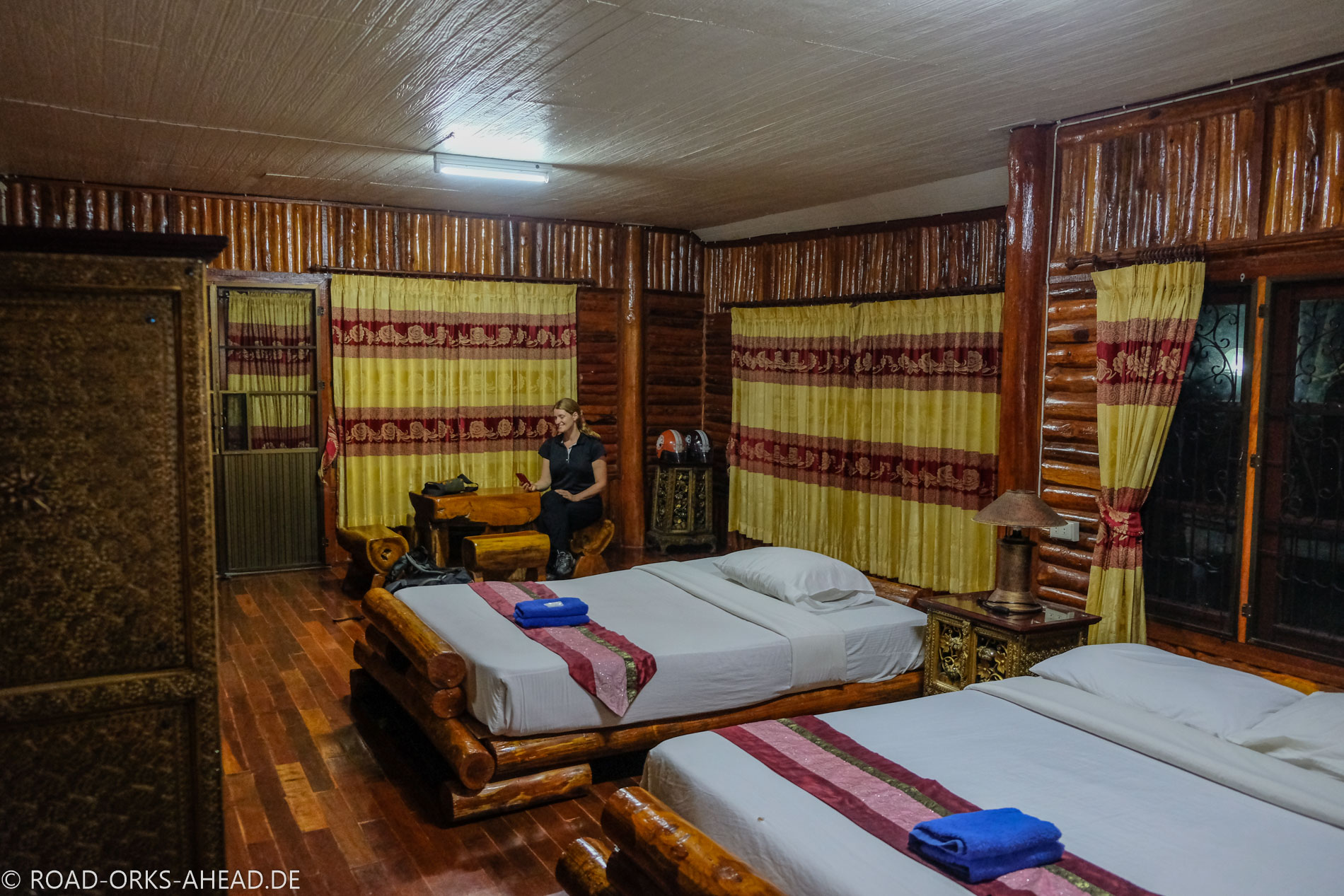 Unsere Luxusunterkunft in Chiang Dao