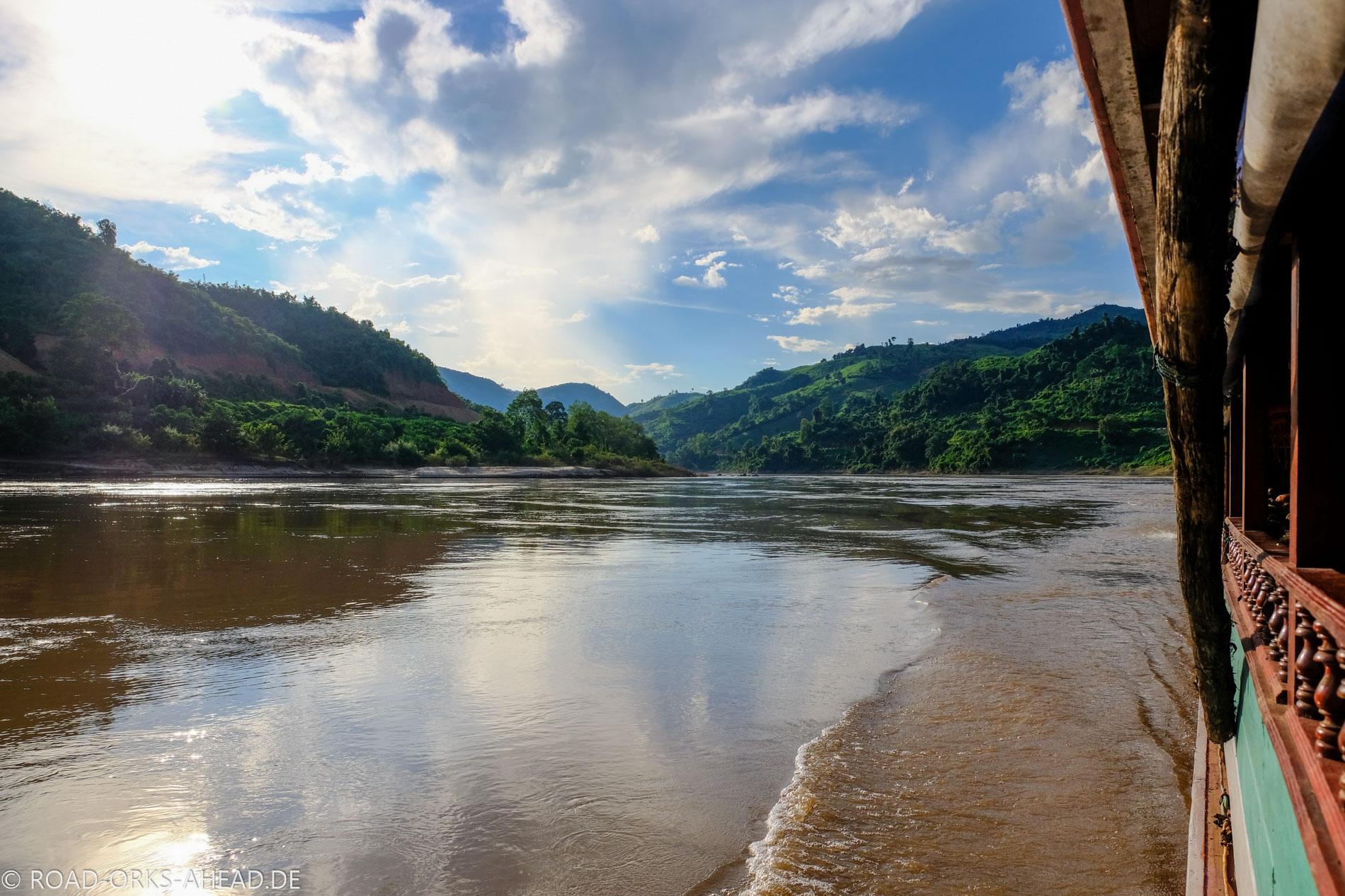 Mekong in Laos