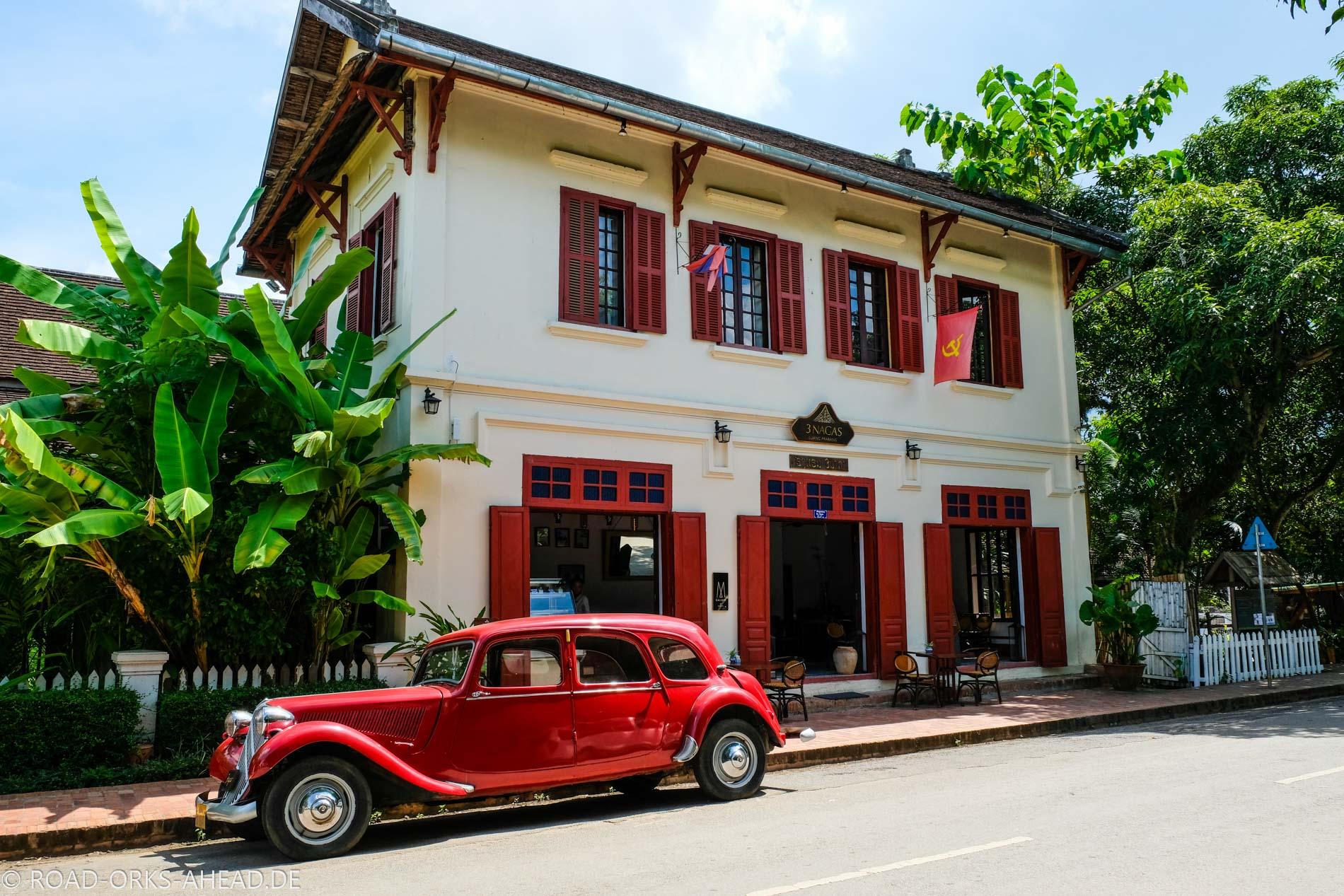 Koloniale Gebäude in Luang Prabang
