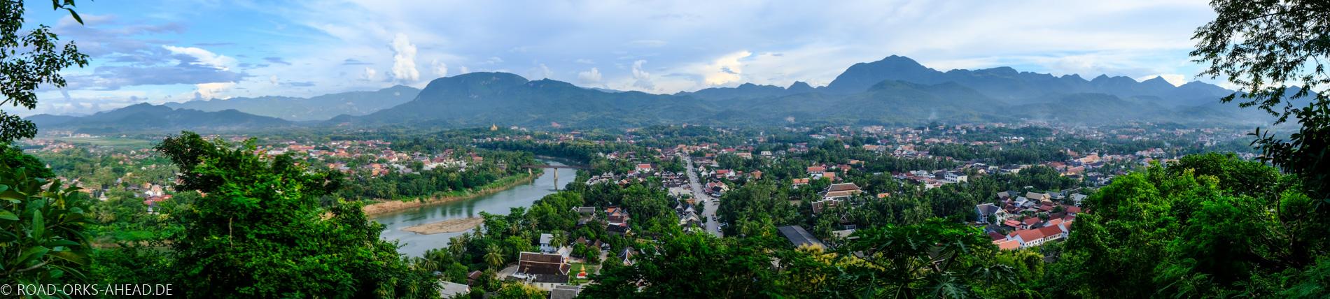 Phou Si Panorama, Luang Prabang