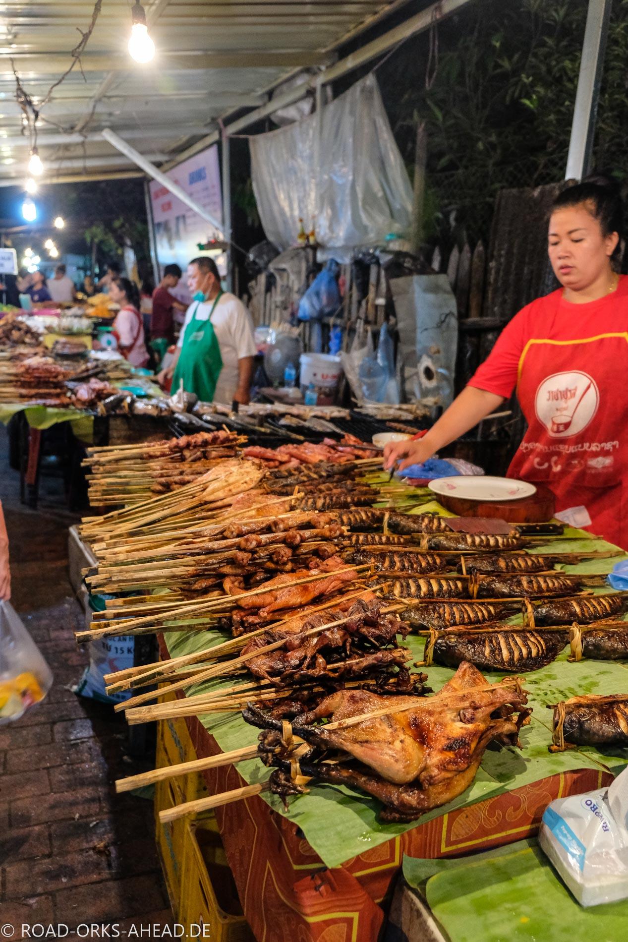 Streetfood Luang Prabang