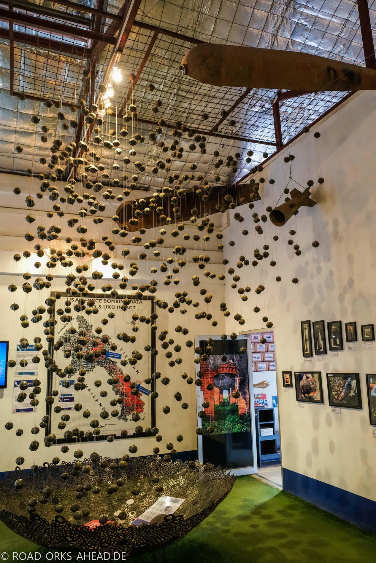 COPE - Streubomben, Vientiane