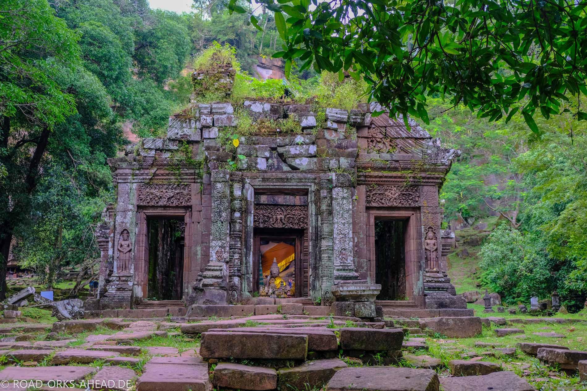 Vat Phou wird auch heute noch als Tempel genutzt