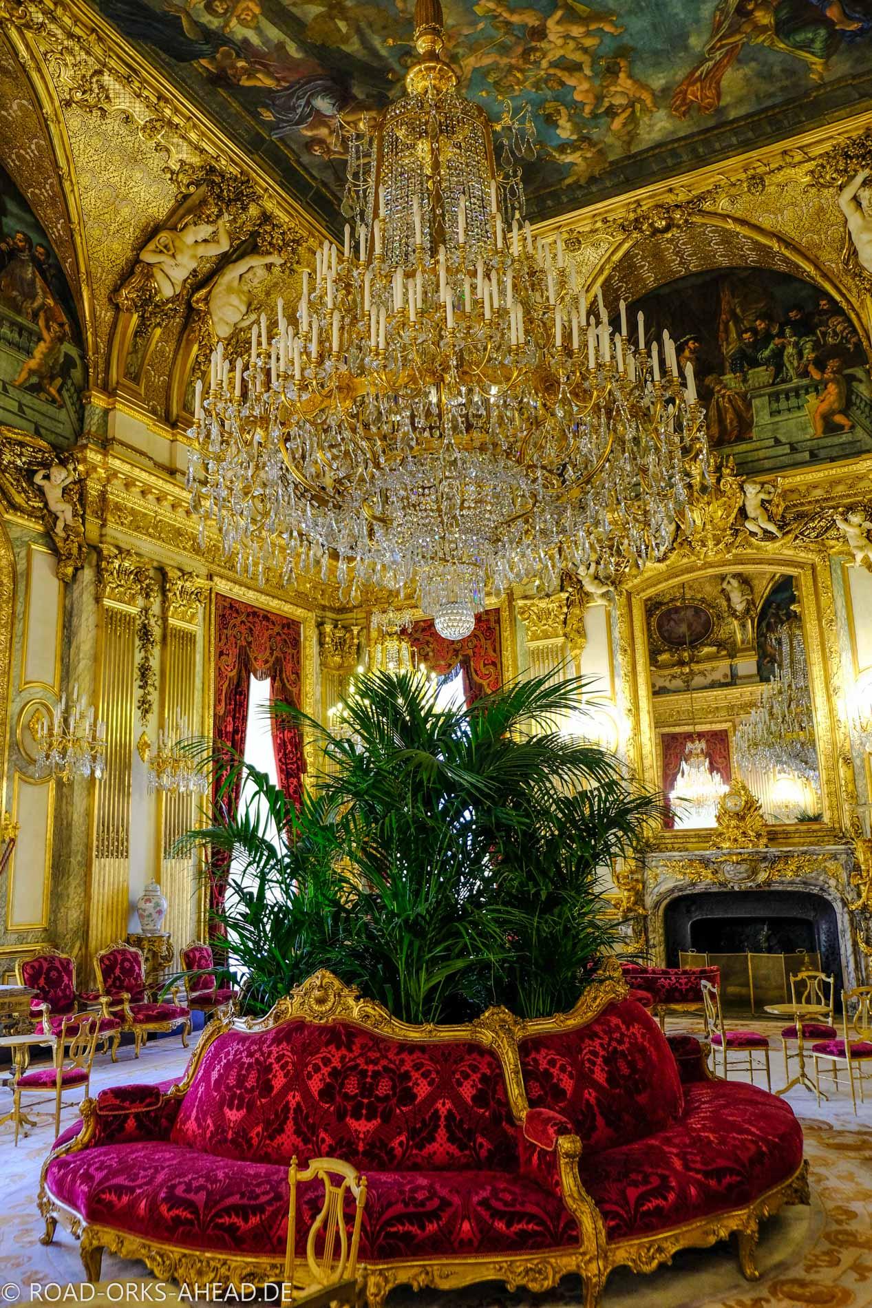Königsgemächer im Louvre