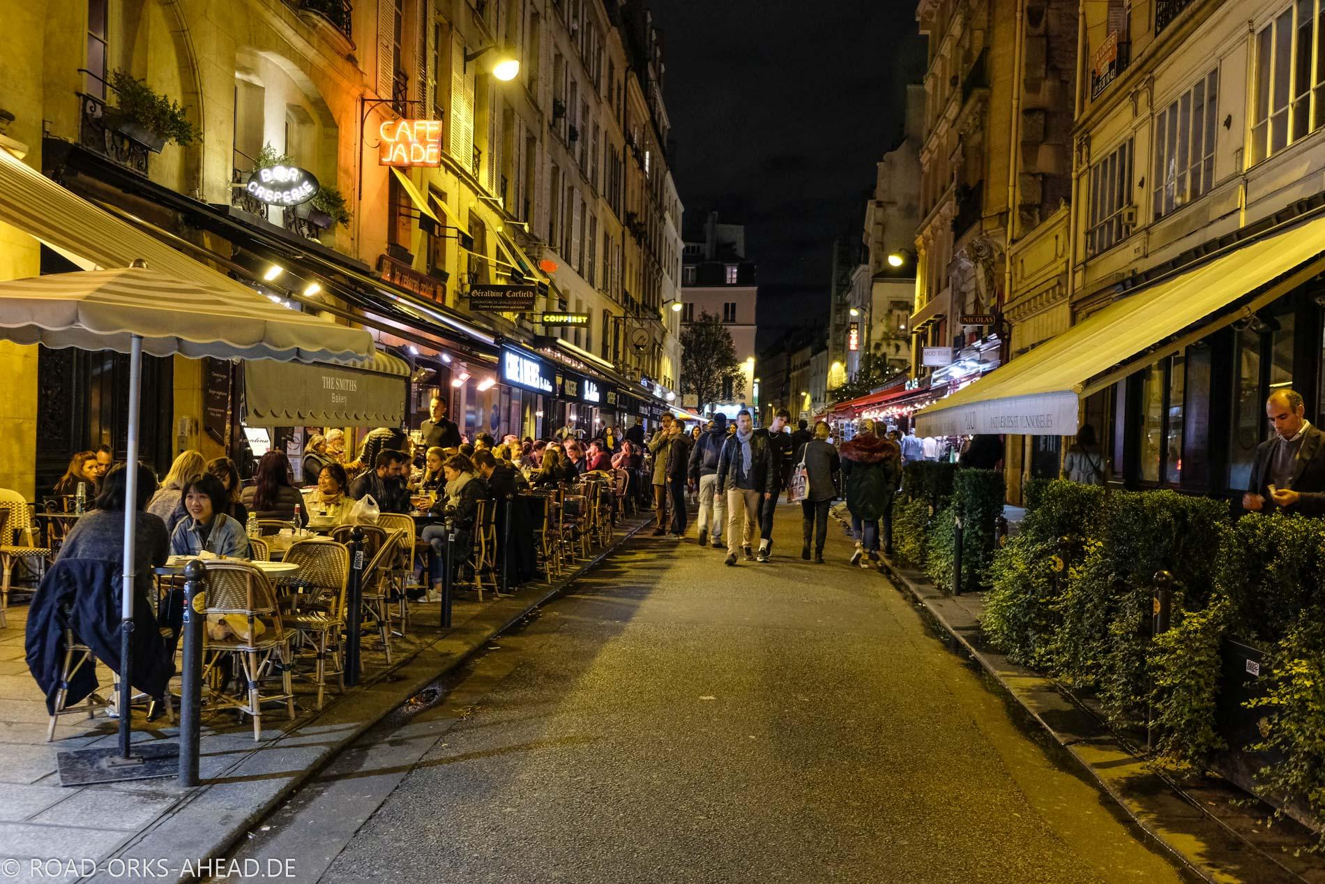 Pariser Cafeszene