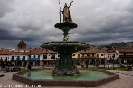 Inka Brunnen in Cusco