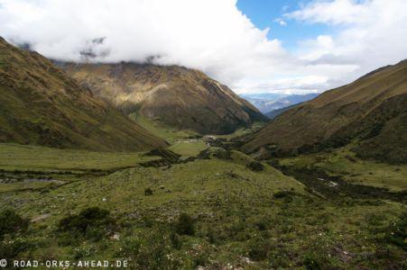 Salkantay Trek - Kurz vor dem Humantay Lake