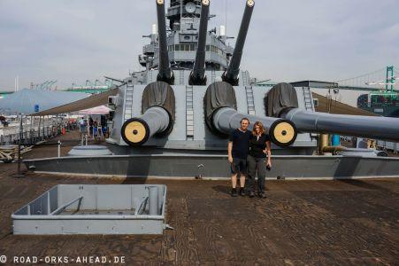 USS Iowa Zerstörer