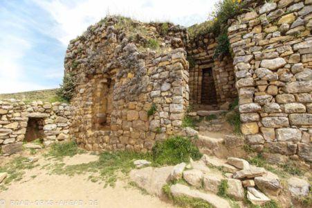 Inka-Tempel, Isla del Sol, Titicacasee