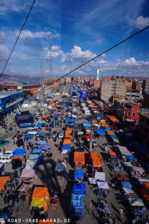 Donnerstagsmarkt in El Alto