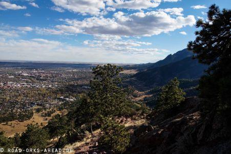 Blick auf Boulder
