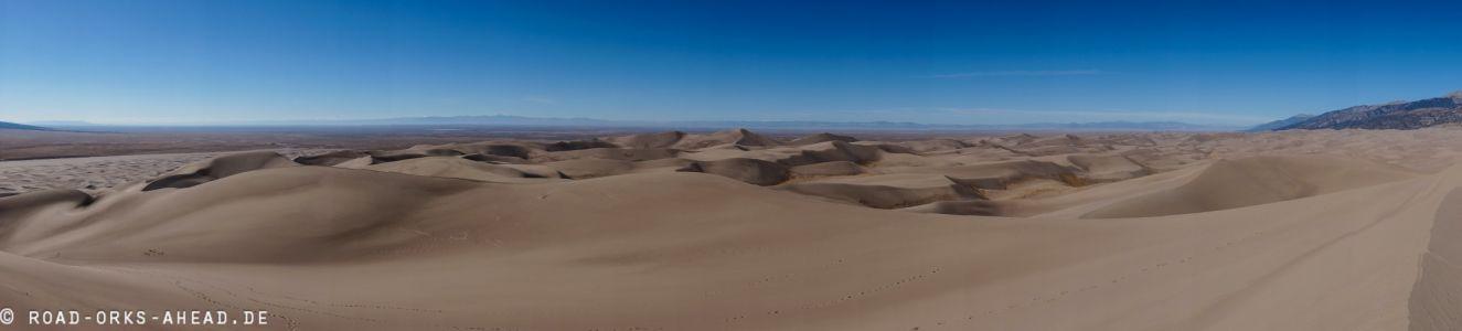 Sand wohin man schaut