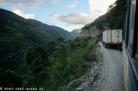 Boliviens Todesstraße