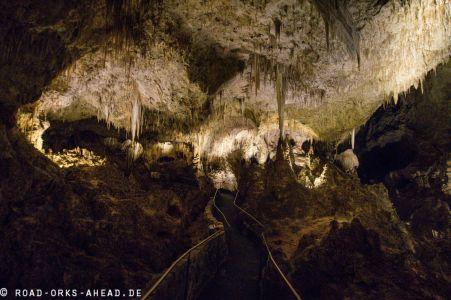 Riesiges Höhlensystem