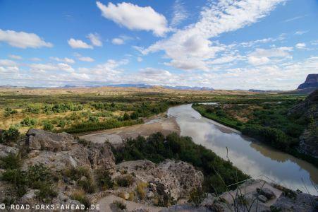 Blick auf den Rio Grande