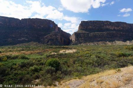 Blick auf den Canyon