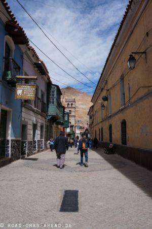Die Straßen von Potosi