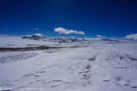 Grenze Bolivien - Chile