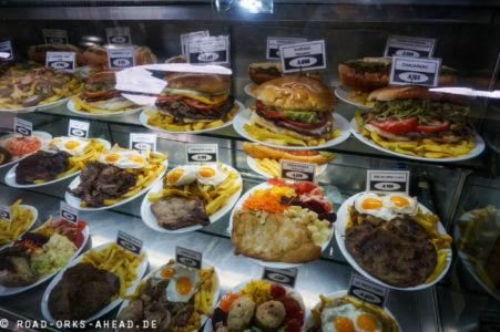 Chilenische Portionen