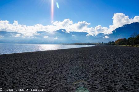 Vulkanstrand in Pucon