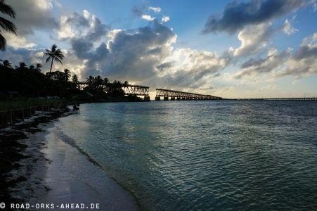 Alte Florida Keys Bahnbrücke