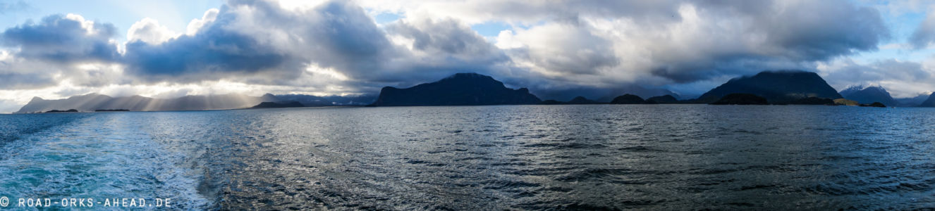 Patagonien Fjord Panorama
