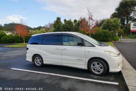 Toyota Estima in Neuseeland