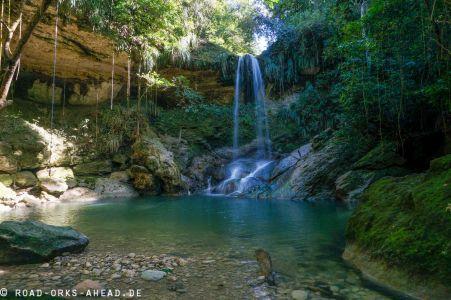 Gozalandia Wasserfall