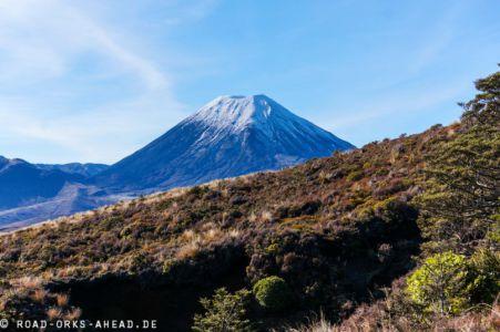Ngauruhoe Vulkan oder auch Mt Doom (Herr der Ringe)