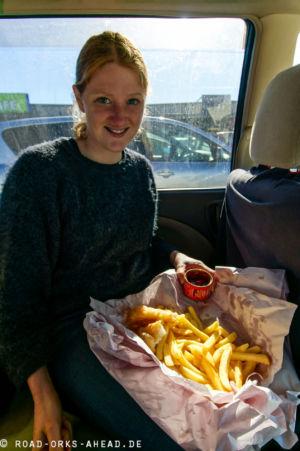 Fish & Chips gehört einfach zu Neuseeland