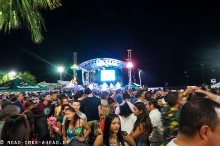 Neujahr auf Culebra