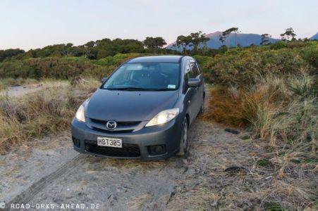 Mazda Premacy - Neuseeland Südinsel