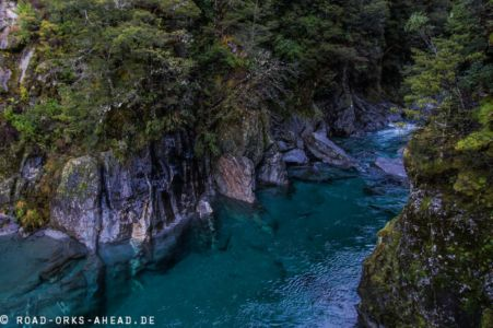 Blue Pool - Haast Highway