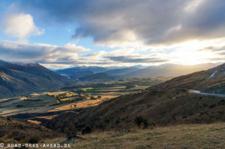 Kurz vor Queenstown - Highway 6