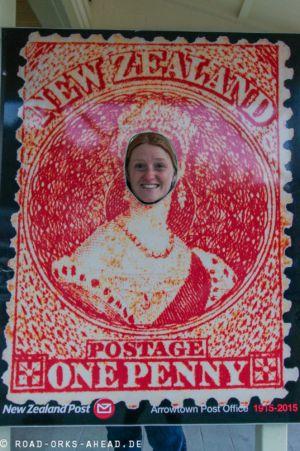 Briefmarke Natalie