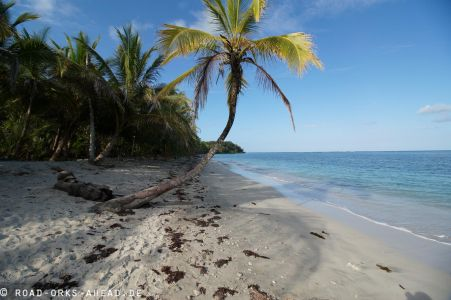 Karibikstand in Cahuita