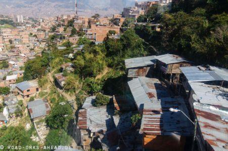 Medellin's Barrios können mit der...