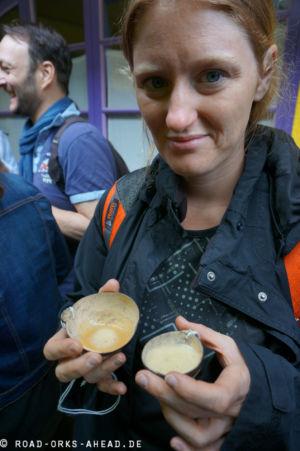 Chicha ist das traditionelle Bier der Anden