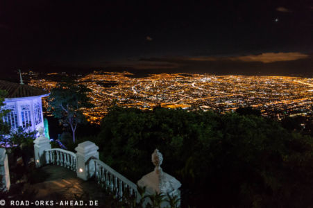 Gesehen vom Berg Monserrate