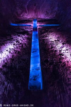 Größtes unterirdisches Kreuz