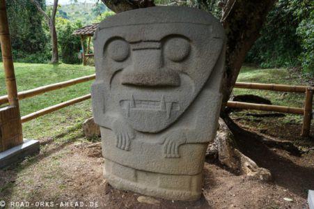 Statue der San-Agustin Kultur