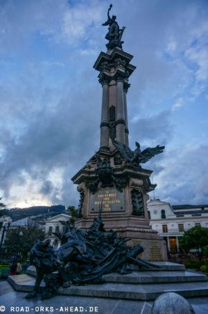 Quito - Unabhängigkeitsdenkmal