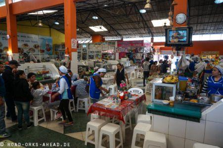 Essen im Mercado Central