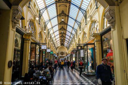 Stilvoll shoppen im Block Arcade Melbourne