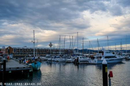 Hobarts kleiner Yachthafen