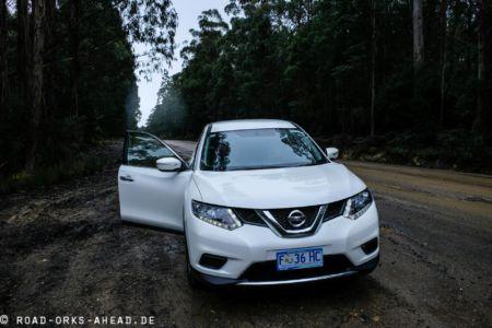 Nissan X-Trail - Auto in Tasmanien