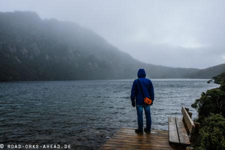 Nils an einem Bergsee, Hartz Mountain