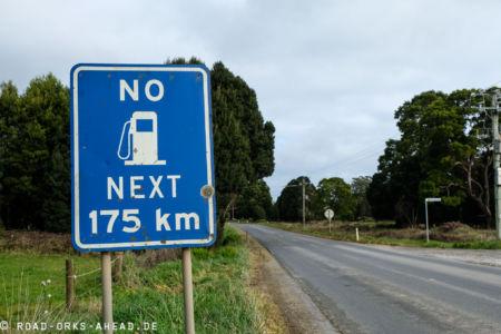 Western Explorer Road - No Gas
