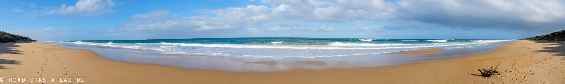 Ninety Mile Beach Panorama