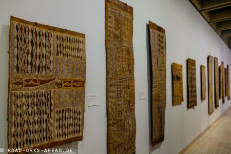 Aborigine Kunst in der Art Gallery of New South Wales